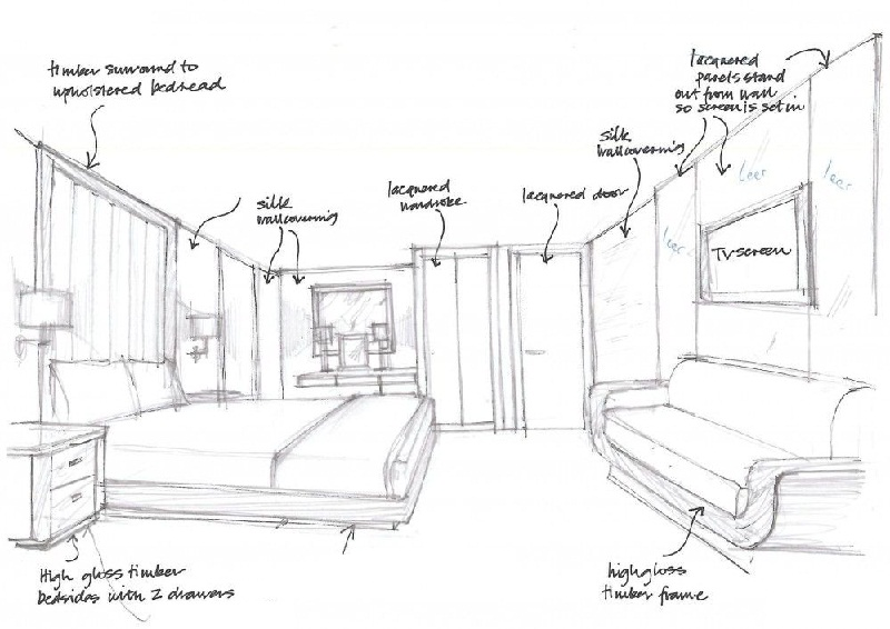Interior And Exterior Drawings | STUDIO R